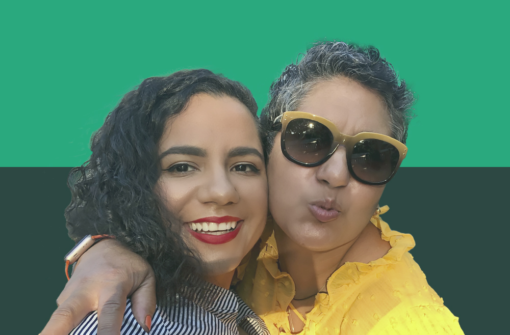 NextAdvisor contributing writer Jully Alma-Taveras is pictured with her mother, Julia, whose retirement advice she defied.