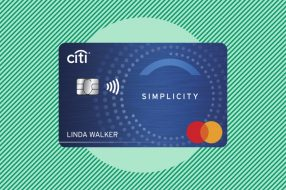 Image showing the Citi Simplicity credit card