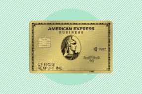 A photo to accompany a story about the American Express Business Gold Card