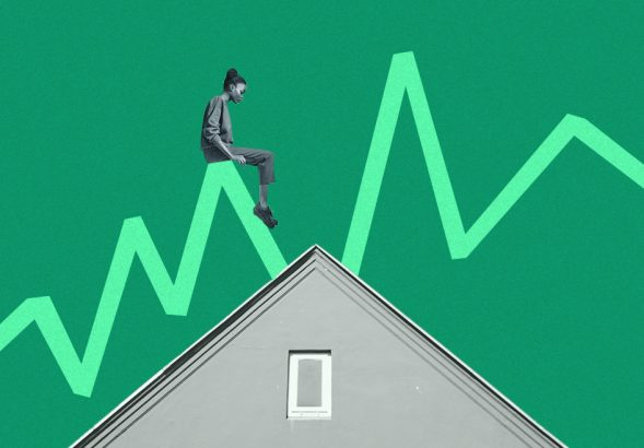 A photo to accompany a story about mortgage rate predictions