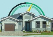 Photo illustration to accompany article on how good your credit must be to buy a house