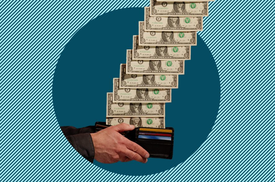 Photo illustration to accompany article that explains what money market accounts are