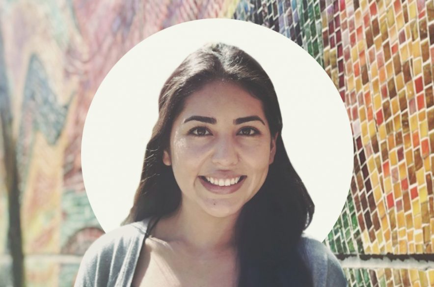 An image of Laura Santos, an administrative assistant at the University of California San Diego
