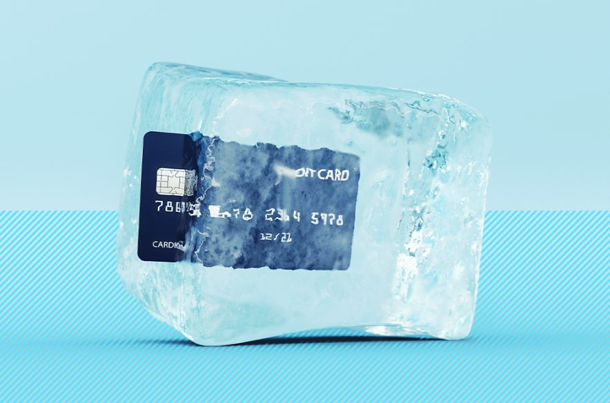 Photo to accompany story about how to freeze your credit.
