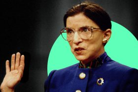 Photo to accompany story about how Ruth Bader Ginsburg impacted womens' finances.