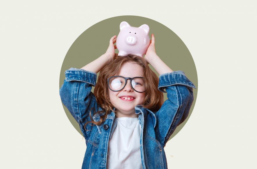 Photo to accompany story about savings accounts for kids.