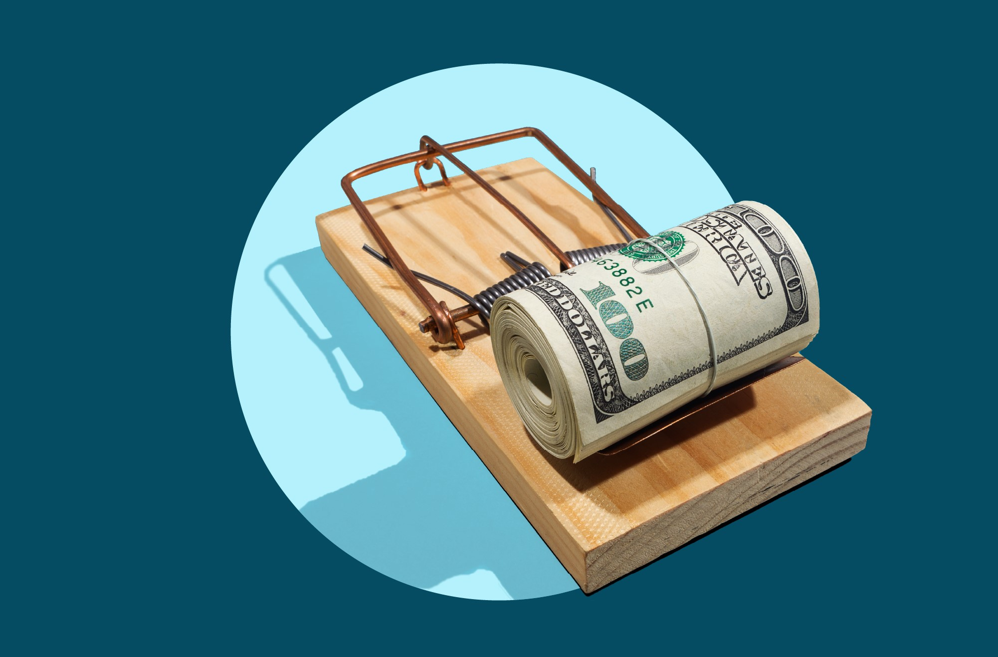 Photo to accompany story about personal loan scams.