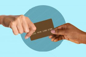 Photo to accompany story about joint credit cards.