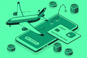 Image to accompany article on credit card travel hacks