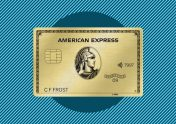 Image showing the American Express Gold card
