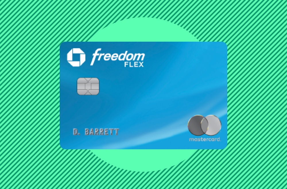 Image showing the Chase Freedom Flex credit card