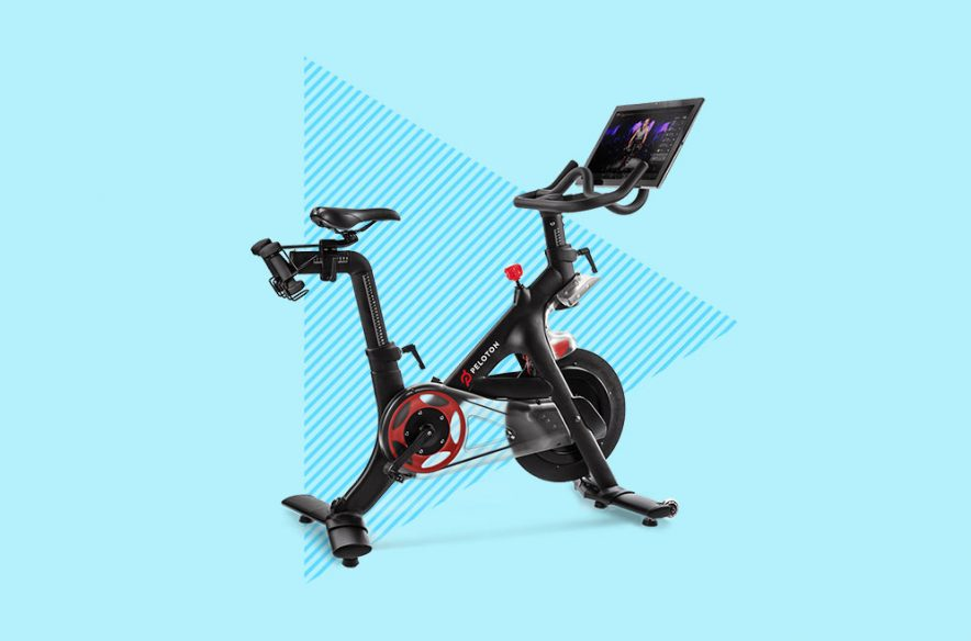 Photo to accompany story about how to get a Peloton with Chase.
