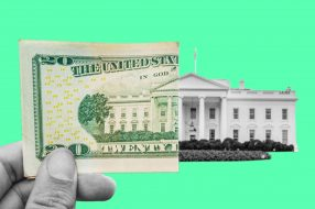 Image to accompany article featuring expert advice on money moves to make following the election of Joe Biden as the next president