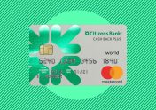 Image showing the Citizens Bank Cash Back Plus World Mastercard