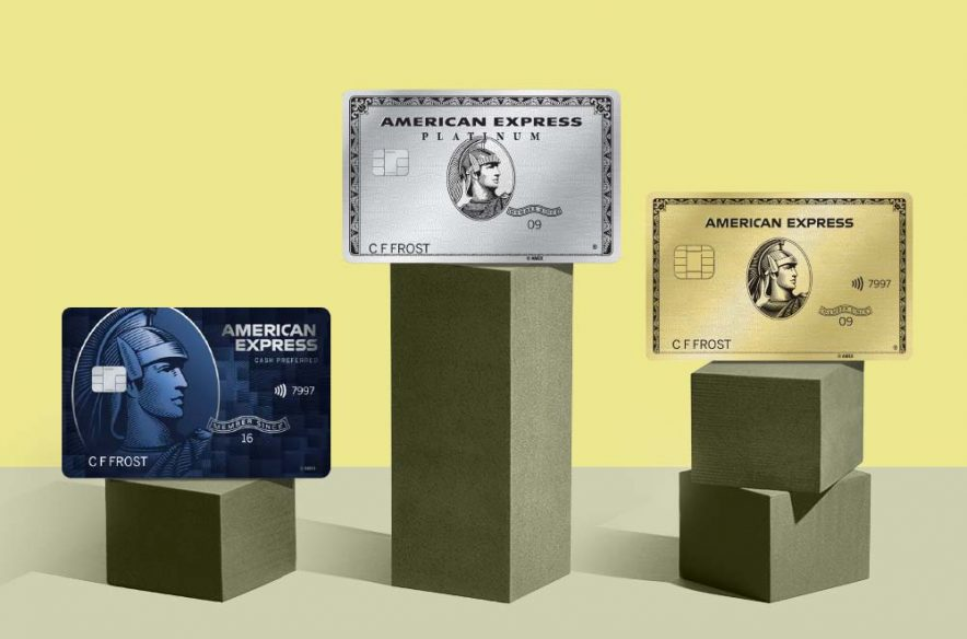 Photo to accompany story about best American Express cards.