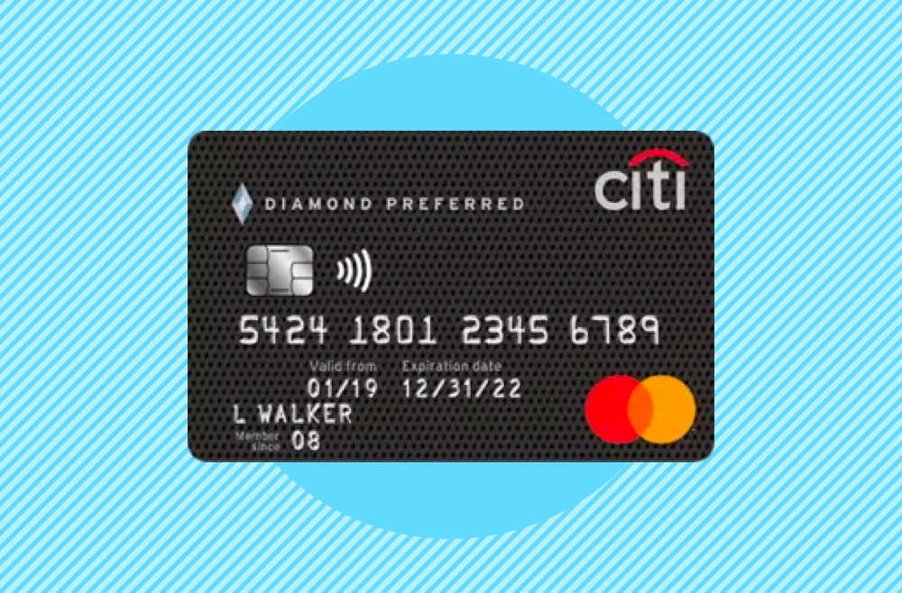 Photo to accompany citi diamond preferred review.