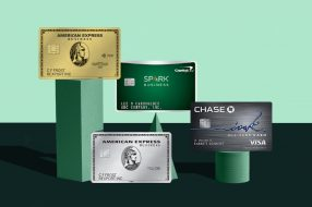 A photo to accompany a story about the best business credit cards