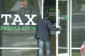 A photo to accompany a story about tax deductions