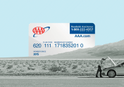 A photo to accompany a story about AAA roadside assistance