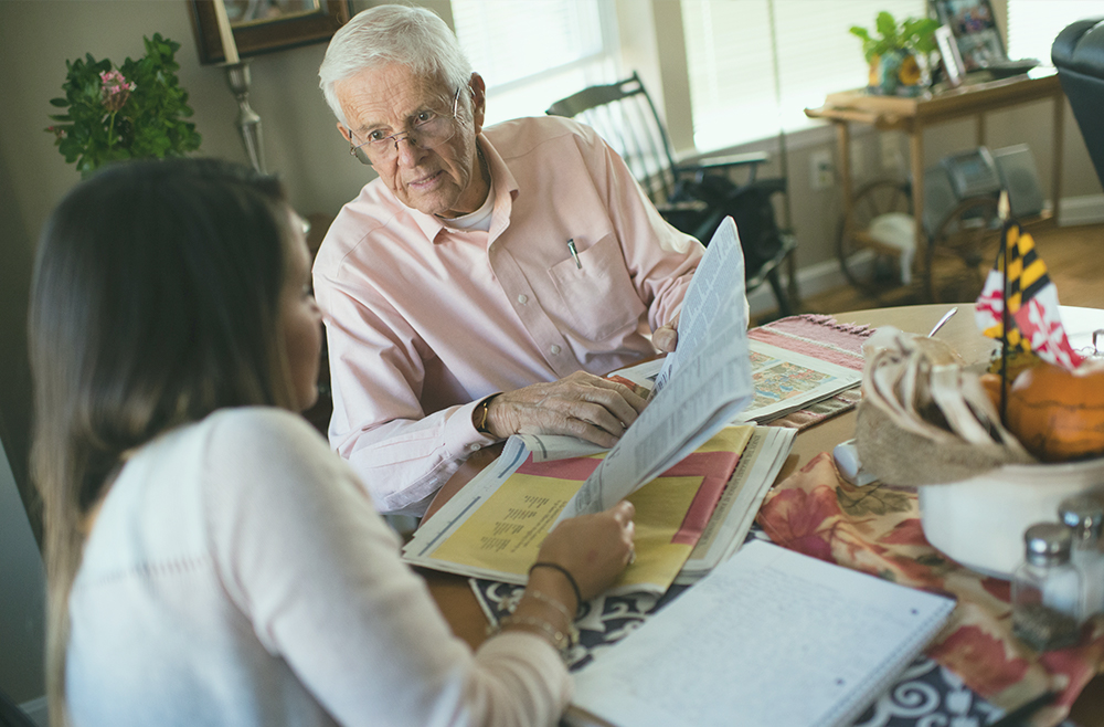 A photo to accompany a story about pandemic caregivers