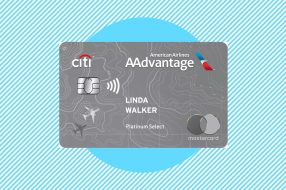 A photo to accompany a review of the Citi / AAdvantage Platinum Select World Elite Mastercard