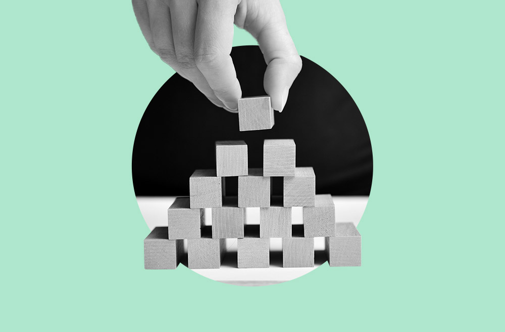 Photo illustration to accompany guide to building credit
