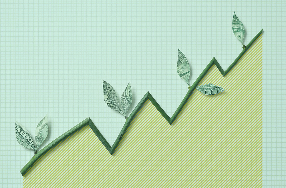 Photo illustration to accompany article and information on savings account rates
