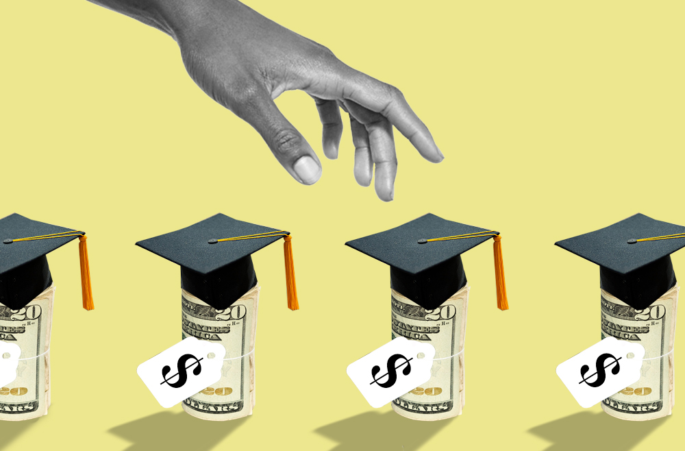 Photo to accompany story about student loan refinancing.