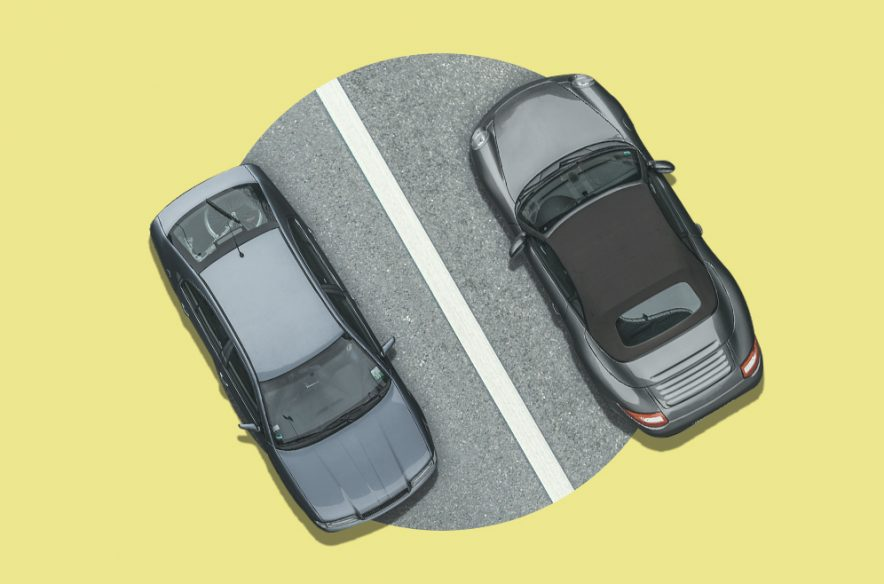 A photo to accompany a story about collision and comprehensive car insurance