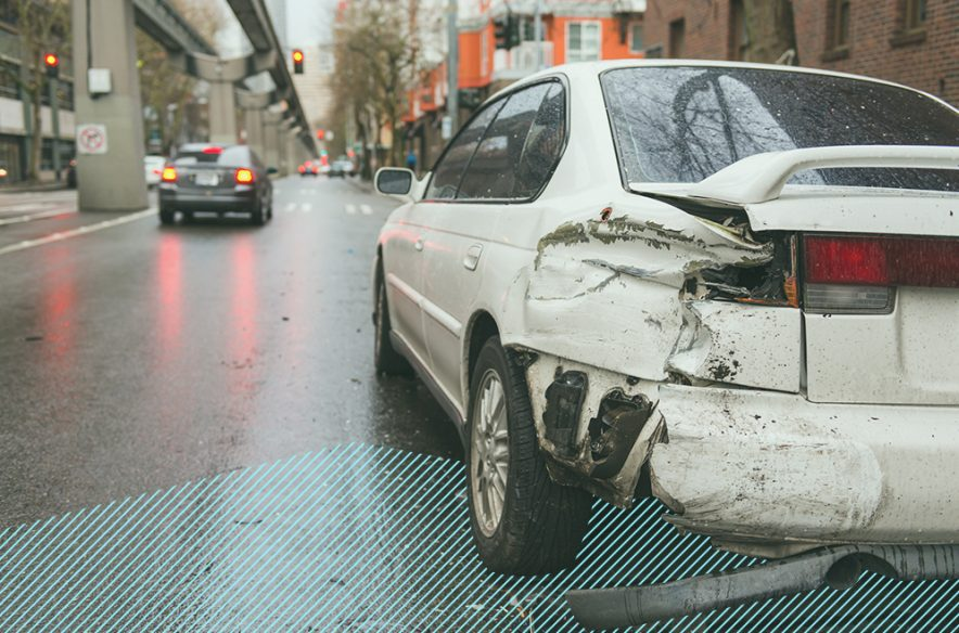 A photo to accompany a story about hit-and-run accidents